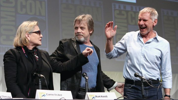 harrison ford comic con